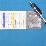Promotional pens with pull out page