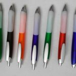 Rubber Grip Frosted Pen