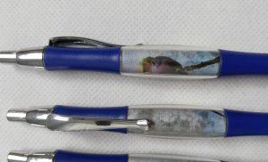 Pen with Photo inside Barrel
